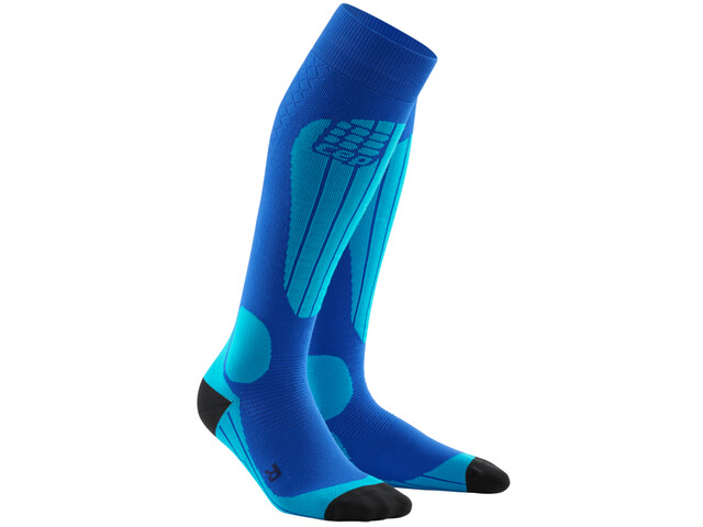 cep Thermo Calcetines Hombre, blue/azure